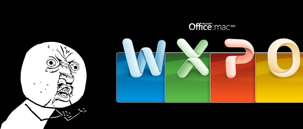 No me funciona Office en Mac