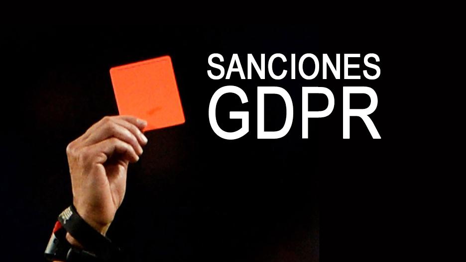 Sanciones GDPR