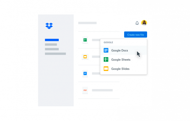 Dropbox Business para GSuite