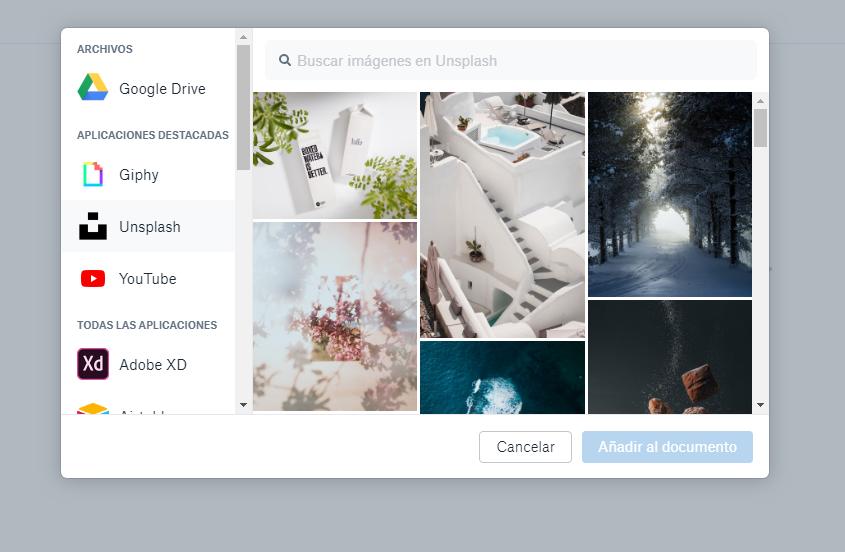 añadir contenido multimedia