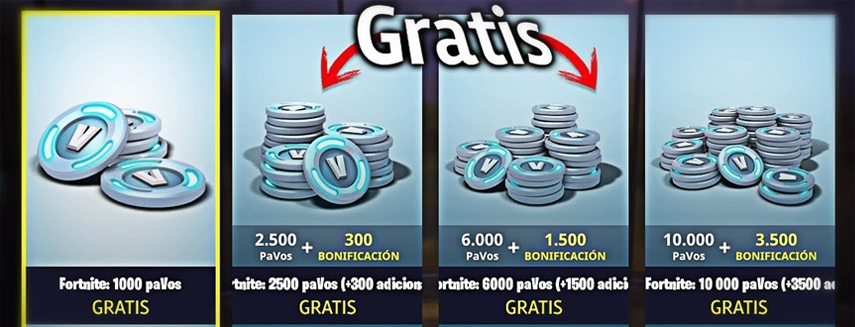 Fortnite pavos gratis